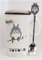 My Neighbor Totoro Ceramic Mug - On a Limb