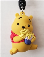 Winnie the Pooh Figural Bag Clip - Pooh with Honey Pot