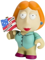 Kidrobot - Family Guy-  Lois Griffin w/Sign