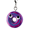 Kidrobot Yummy World Attack of the Donuts Keychain Series - Blue Swirl Drizzled Blueberry (2/24)