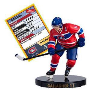 "2016 NHL 2.5"" Figure - Brendan Gallagher - Montreal Canadians (Common)"