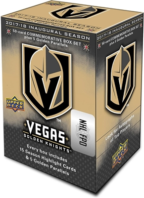 2017-18 Inaugural Season 55 Card Commemorative Set - Vegas Golden Knights
