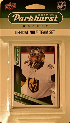 2019-20 Upper Deck Parkhurst NHL Team Set - Vegas Golden Knights