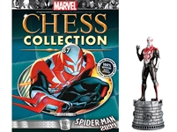 Marvel Chess Figure Collection #87 Spider-Man 2099 White Rook