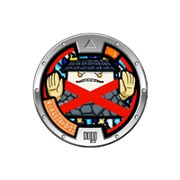 Yo-Kai Watch - Series 3 Medal - Impass (1/24)