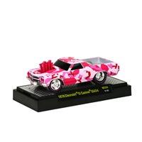 M2 Machines - Wild Cards - 1970 Chevrolet El Camino SS454 (pink/red camo)