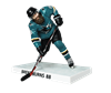 "Imports Dragon NHL 6"" Figure - San Jose Sharks - Brent Burns"