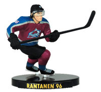"Imports Dragon NHL 2.5"" Figure - Colorado Avalanche - Mikko Rantanen"