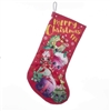 Kurt Adler Holiday Stocking - Shopkins