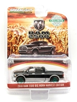 Greenlight Hobby Exclusive Series - 2018 RAM 2500 Big Horn Harvest (Black/Silver) Green Machine