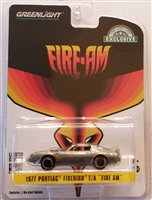 "Greenlight Hobby Exclusive Series - 1977 Pontiac Firebird T/A ""Fire AM""  Chase"