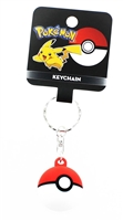 Pokemon 2-Inch Red Pokeball Key Ring
