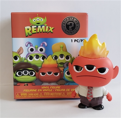 Funko Mystery Minis - Alien Remix - Anger (Inside Out)