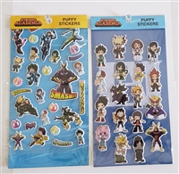 My Hero Academia Puffy Stickers - Set of 2