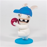 McFarlane- Rabbids Invasion Mini Figure- Dodge Ball- LOOSE