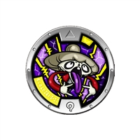 Yo-Kai Watch - Series 3 Medal - Skranny (1/24)