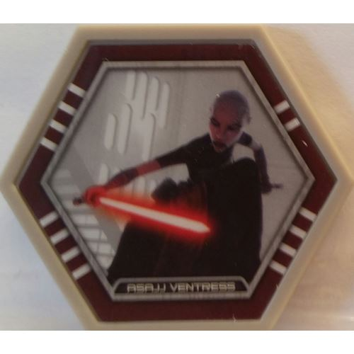 Star Wars Galactic Connexions - Asajj Ventress - Gray/Standard - Common