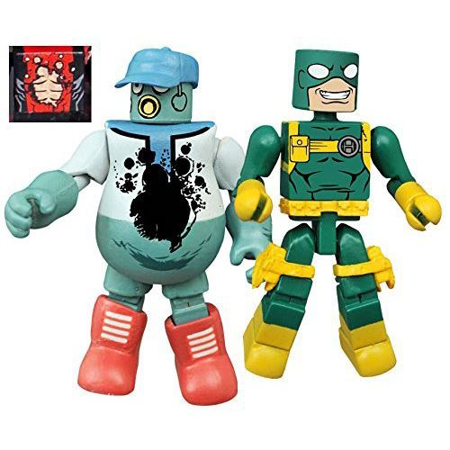 Minimates Series 65 - Mascot Deadpool & Bob Agent of Hydra