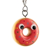 Kidrobot Yummy World Attack of the Donuts Keychain Series - Polka Dot M&Ms Pink Frosted (2/24)
