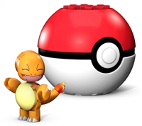 Mega Construx Pokemon Buildable Figure & Poke Ball - Charmander