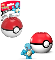 Mega Construx Pokemon Buildable Figure & Poke Ball - Squirtle