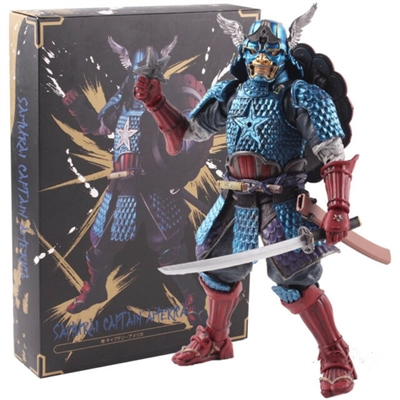 Bandai Tamashii Nations- Manga Realization- Marvel- Samurai Captain America