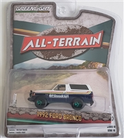 Greenlight Collectibles All-Terrain Series 10 - 1992 Ford Bronco (Chase-Green Machine)