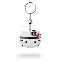Kidrobot Hello Kitty Team USA Keychain - Blue Headband