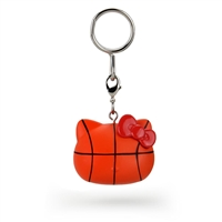 Kidrobot Hello Kitty Team USA Keychain - Basketball