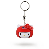 Kidrobot Hello Kitty Team USA Keychain - Boxer