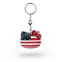 Kidrobot Hello Kitty Team USA Keychain - USA Flag