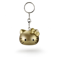 Kidrobot Hello Kitty Team USA Keychain - Gold