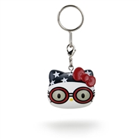 Kidrobot Hello Kitty Team USA Keychain - Swimmer