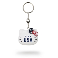 Kidrobot Hello Kitty Team USA Keychain - Team USA