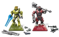 Mega Construx Halo Infinite Conflict Pack - Master Chief vs Brute Warrior