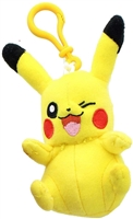 "Pokemon 3.5"" Plush Keychain - Pikachu"