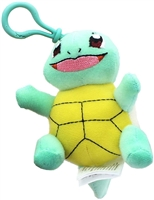 "Pokemon 3.5"" Plush Keychain - Squirtle"