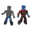 Marvel Minimates - Guardians of the Galaxy Vol 2 - Nebula & Drax