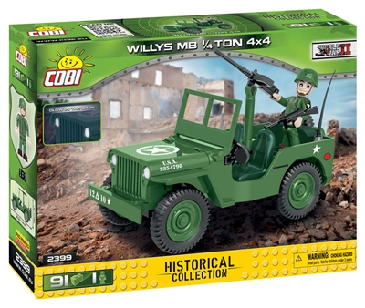COBI Historical Collection - Willys MB 1/4 Ton 4x4