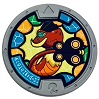 Yo-Kai Watch Series 2 Copperled Medal (Loose)