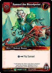 World of Warcraft TCG - Samael the Bloodpoint (17) - Twilight of the Dragons