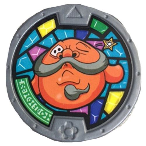 Yo-Kai Watch Series 2 Rollen Medal [Loose]