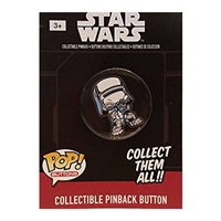 Funko POP! Buttons - Star Wars Episode 7 - Snowtrooper