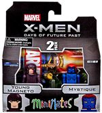 "Marvel Minimates  ""X-Men Days of Future Past"" - Young Magneto & Mystique"