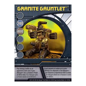 Ability Card - Granite Gauntlet