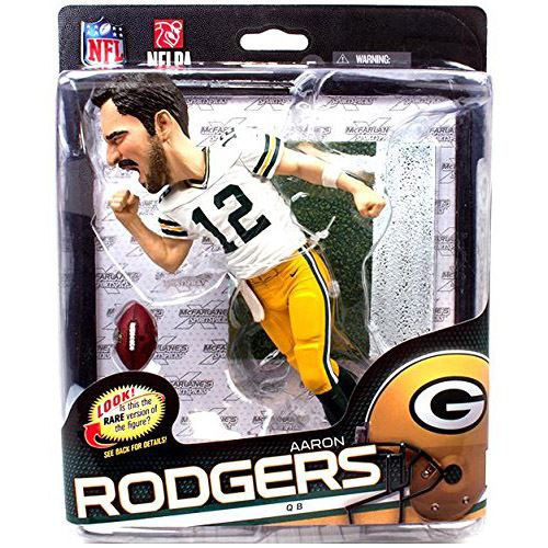 NFL Series 34 (Big Head) - Aaron Rodgers - Green Bay Packers