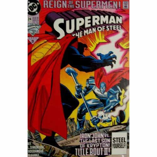 The Man of Steel #24 - Reign of the Supermen