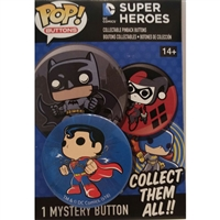 Funko POP! Buttons - DC Comics Super Heroes - Superman