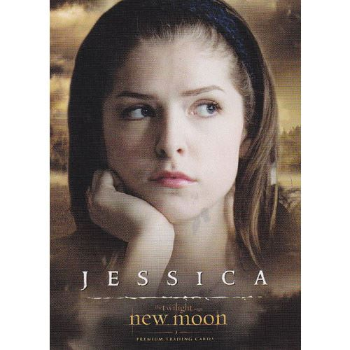 Twilight - New Moon Trading Card - #25 - Jessica Stanley