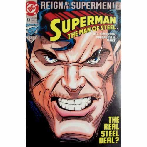 The Man of Steel #25 - Reign of the Supermen